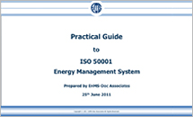 Practical guide to iso 50001