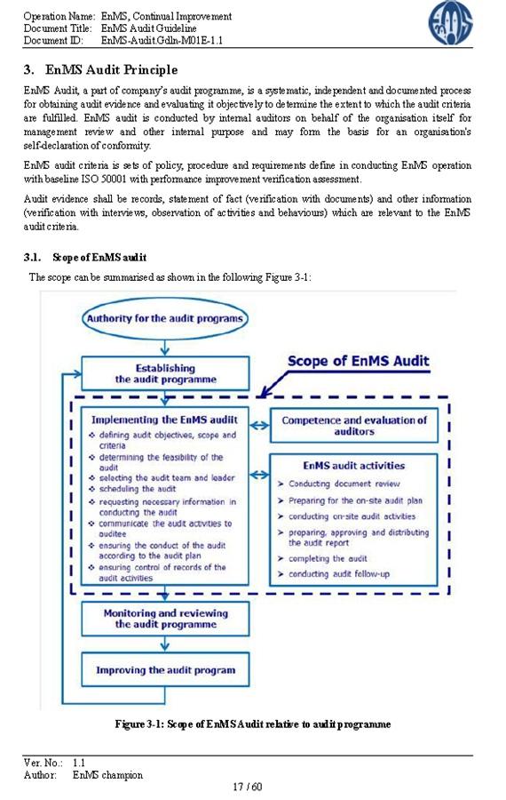 Audit Guideline